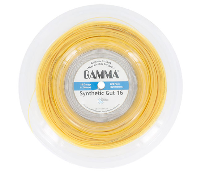 Gamma Synthetic Gut 16g Reel (Gold)