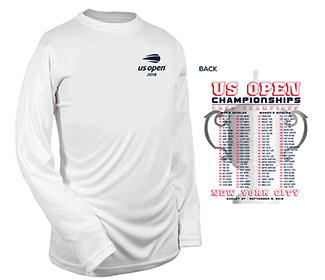 US Open '18 Past Champs L/S Tee (B) White